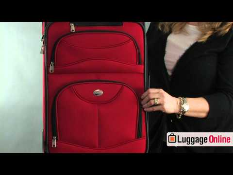 American Tourister Spring Ranch 3-Piece Spinner Set Review - Luggage Online