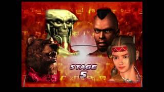 Tekken Tag 1 ( Arcade ) - Yoshimitsu / Kuma Playthrough ( June…