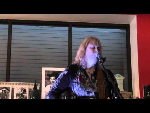 Georgie Jessup: Free Leonard Peltier Benefit Concert at Cyclops Books, Baltimore, Maryland