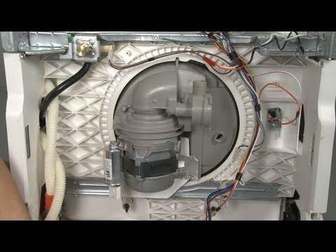 Dishwasher Noisy Circulation Pump MotorHousing