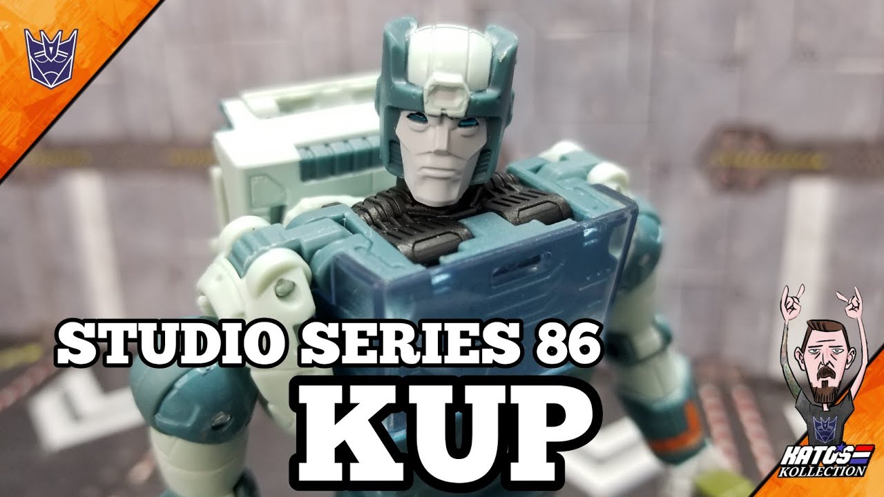 Transformers Studio Series 86 Kup Review by Kato's Kollection