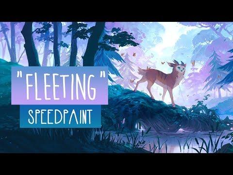 Fleeting | SPEEDPAINT | Photoshop CC