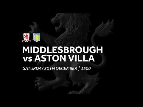 Middlesbrough 0-1 Aston Villa   Extended Highlights