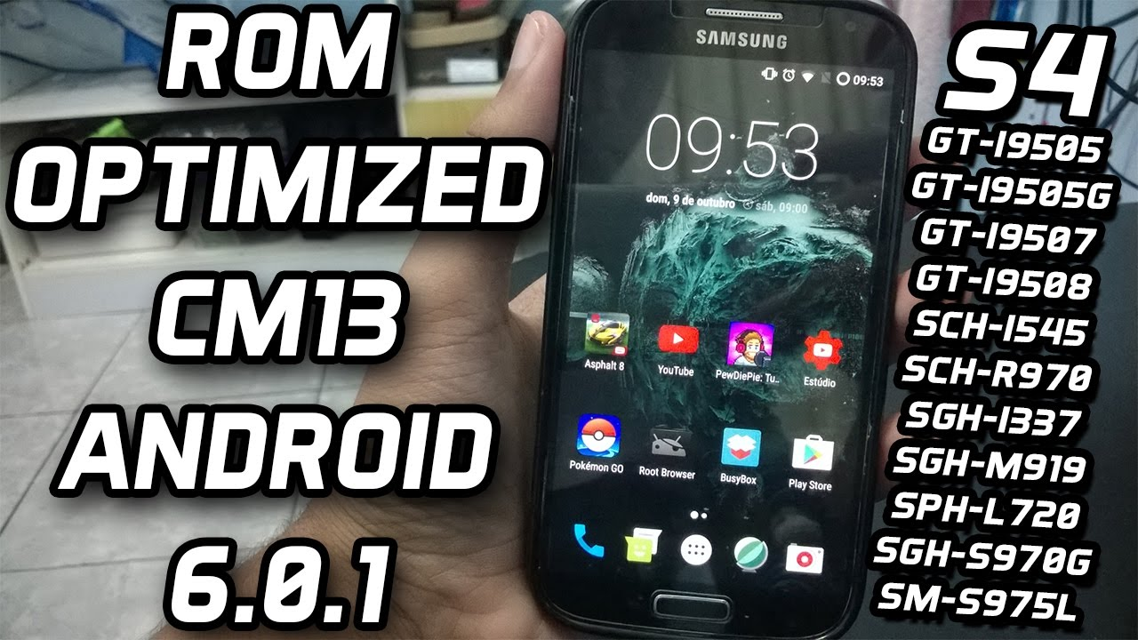 ROM OPTIMIZED CM13 JDCTeam ANDROID 6 0 1 - Galaxy S4 Snapdragon