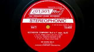 Beethoven Symphony No  8 in F Major, Op  93    George Solti    Chicago Symphony Orchestra