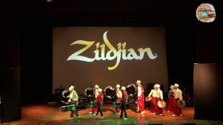 Zildjian Day 2016 Indonesia , Opening  Madah Bahana Ui Feat. Red Gate