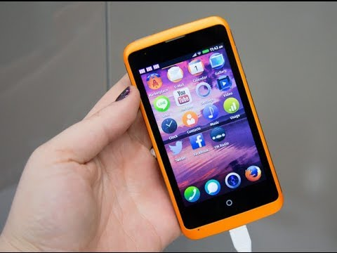 ZTE Open C Hands-on: Firefox OS