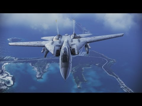Ace Combat Infinity Gameplay (PS3 HD)
