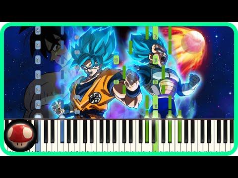 blizzard - Daichi Miura - Piano Tutorial - Dragon Ball Super Broly Theme  by TAM