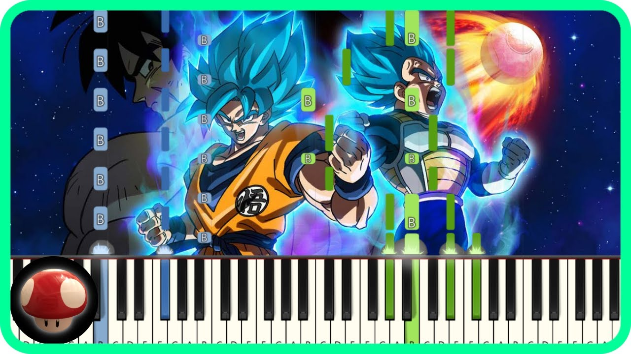 blizzard , Daichi Miura , Piano Tutorial , Dragon Ball Super Broly Theme by  TAM