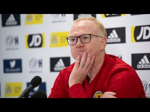 Alex McLeish Press Conference | Scotland v Belgium