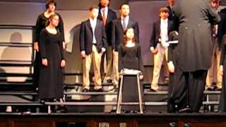 04 27 2011 MHS Choral Spring Concert 018   Select Ensemble   Der Kuckuck hat sich zu Tod Gefall