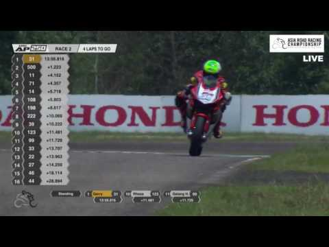 [REPLAY] Asia Production 250cc Race 2 Highlights - 2017 Rd1 Malaysia