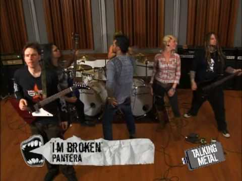 """Talking Metal """"I'm Broken"""" Jam with In This Moment"""