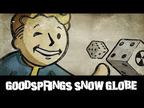Fallout New Vegas Snow Globe Goodsprings Cemetery