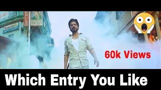 Top 10 BollyWood Hero's Entry Scene You Like Most? #1