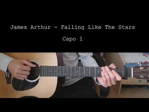 James Arthur – Falling Like The Stars EASY Guitar Tutorial With Chords / Lyrics