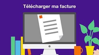 Espace client Pro - Télécharger sa facture