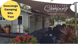 Concierge Camping Site Tour
