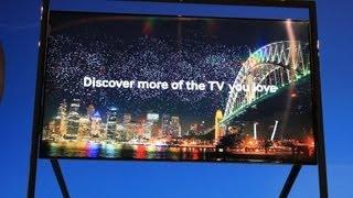 CES 2013: Samsung 85-inch 4k Ultra HDTV Eyes-on.mp4