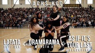 ACHS Korean Cultural Club Rally Performance | Latata + Dramarama  + As If It's Your Last