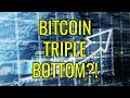 Bitcoin Triple Bottom Confirmed?! Is Crypto About To Rebound Up?