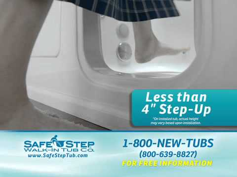 Safe Step Walk In Tub Tv Commercial Youtube