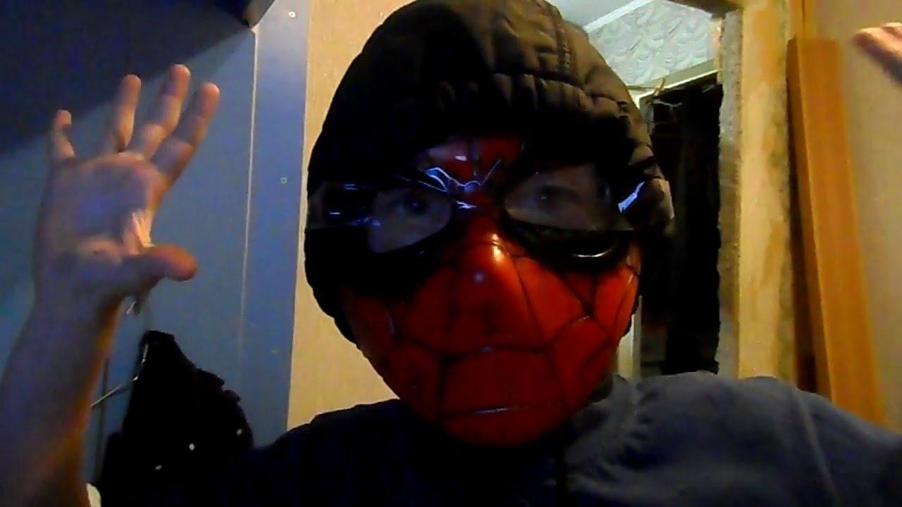 маска человека паука настоящая