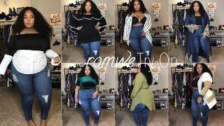 Hmmm is Romwe Plus Size Friendly?! | ft. Donmily Brazilian Curly Hair