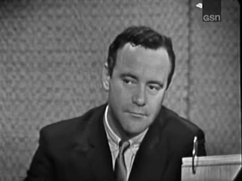 What's My Line? - Jack Lemmon; Terry-Thomas [panel] (May 17, 1964)