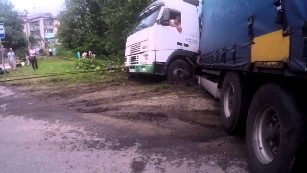 эвакуатор вольво видео