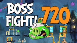 Angry Birds 2 Boss Fight 99! King Pig Level 720 Walkthrough - iOS, Android