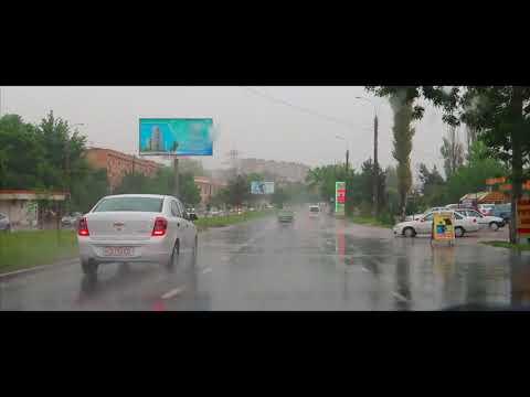 В Ташкенте весенние дожди! Toshkent Bahor Yomg`iri