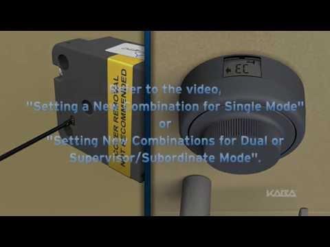 Kaba mas x-10 combination change
