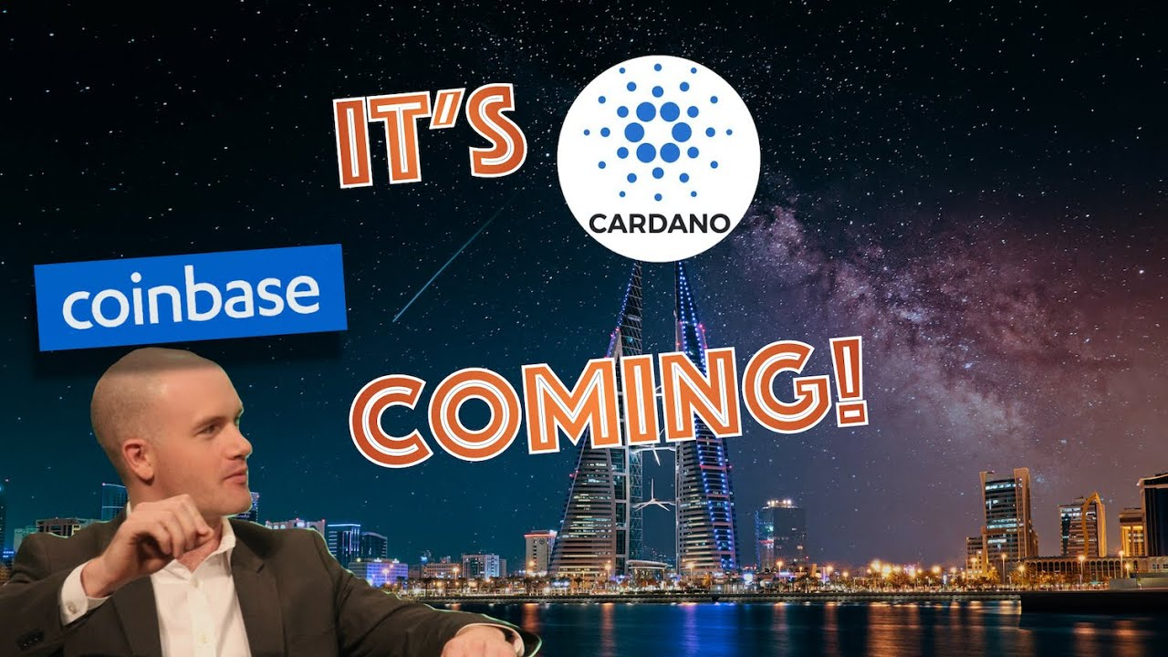 COINBASE Custody for ADA = CARDANO Listing in 2-4 WEEKS! Economic DISASTER on the HORIZON?