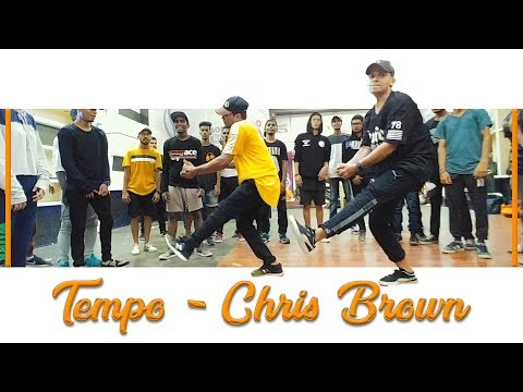 Chris Brown - Tempo | Kartik Raja Choreography | Ft. Vinay Khandelwal  | Dance (class) Video