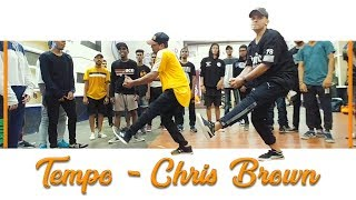 chris brown   tempo kartik raja choreography ft vinay khandelwal dance class video