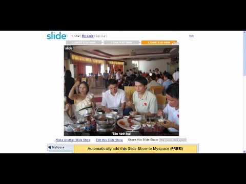 Huong dan lam slideshow