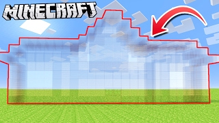 How to make a 100% INVISIBLE HOUSE in Minecraft!