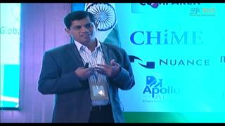 "Mr. raghunath verabelli (managing partner, ggk technologies) speaks on ""the role of predictive analytics in improving healthcare"" at transforming healthcare ..."