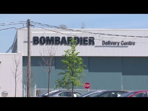 Bombardier workers react to layoffs