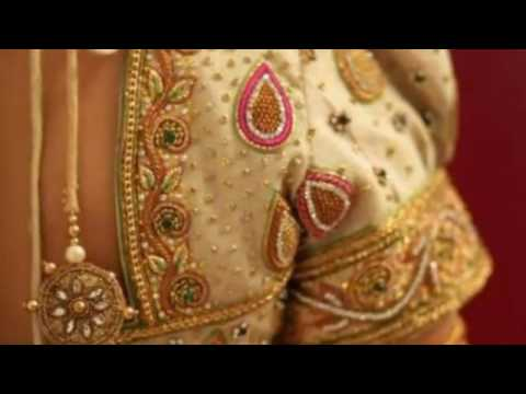 Indian bridal blouse designs, Saree blouse, Blouse Cutting and Stitching,