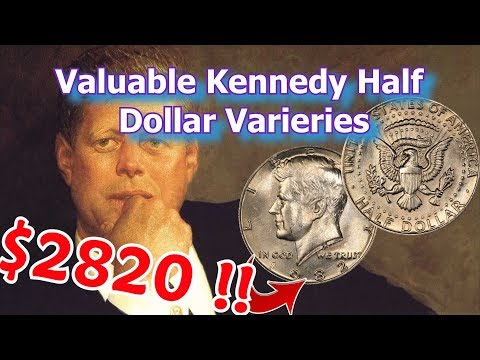 Valuable Kennedy Half Dollars Worth Money - 1982 No FG Variety Coin