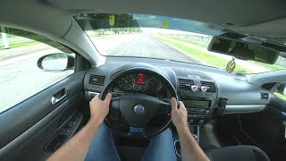 2009 Volkswagen Golf 1.4TSI (122) POV TEST Drive