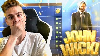 "John Wick Skin in the shop! 🔥| New Weapon !💪 | 1 win = ""SALTO""⚡️