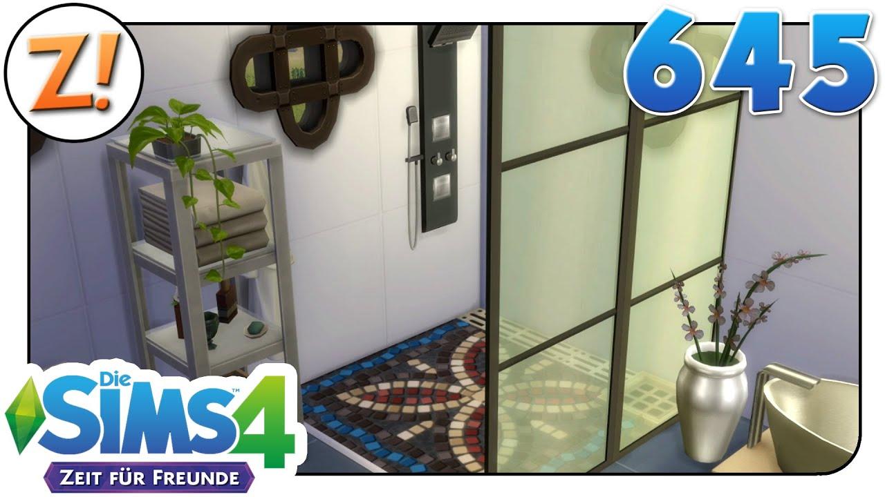 Sims 4 [Zeit für Freunde]: Lieblings Badezimmer #645 | Let\'s Play ★  [GERMAN/DEUTSCH]