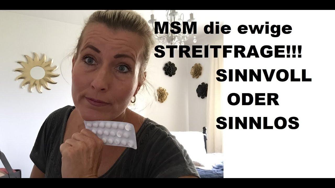 MSM ein heißes THEMA - YouTube