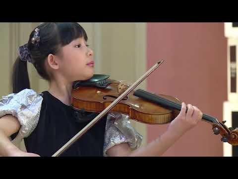 CHLOE CHUA  Menuhin Competition 2018 Junior semi-finals
