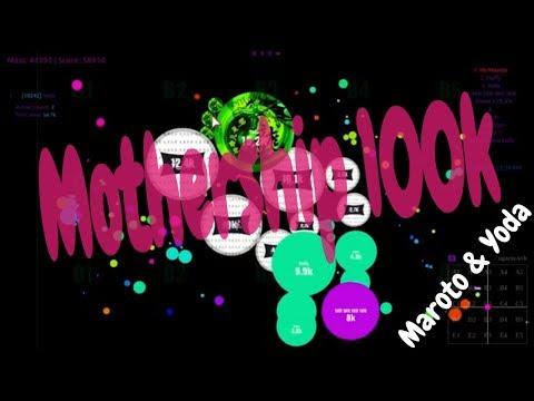 Maroto & Yoda # 78 // Mothershipping 100k - Agar.io thumbnail