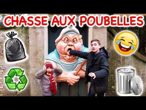 CHASSE AUX POUBELLES À EFTELING ! 🗑😂